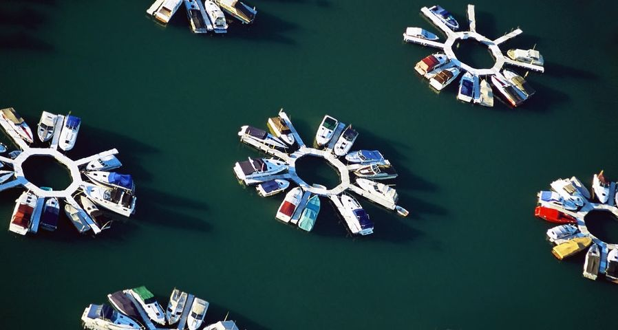 Belmont Harbor in Chicago, Ill.