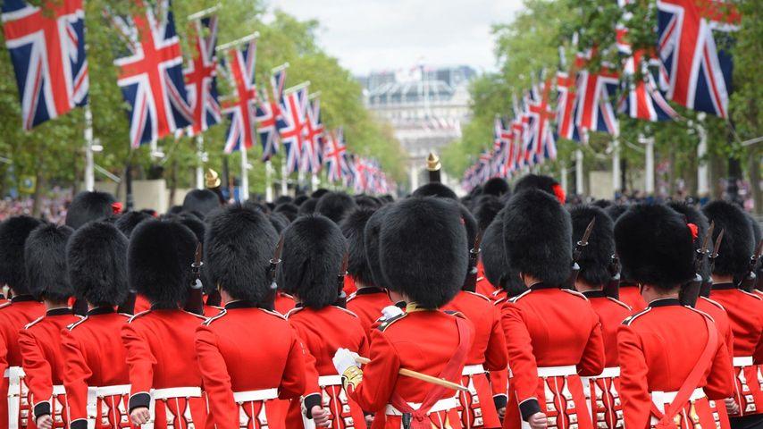 The Queen's Guard near Buckingham Palace, London