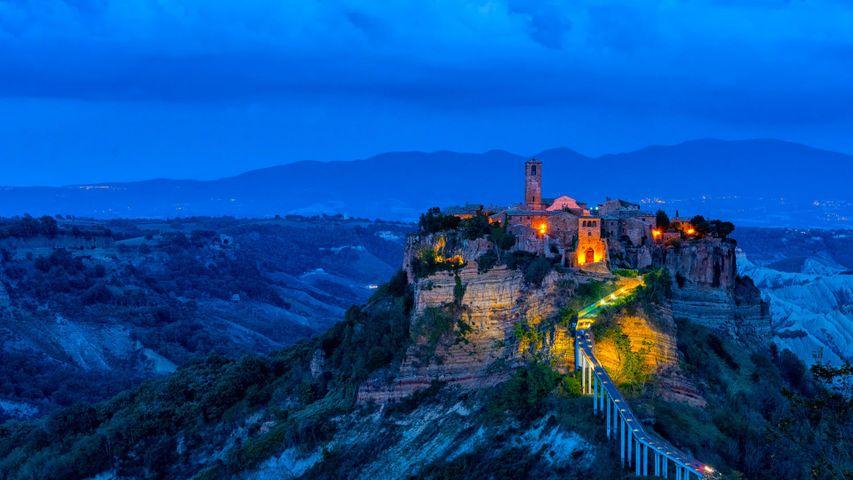 Civita di Bagnoregio, Italien