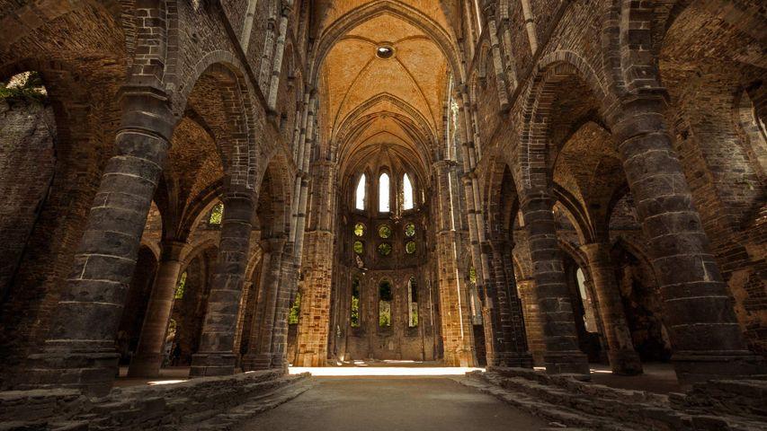 Villers Abbey in Villers-la-Ville, Belgium