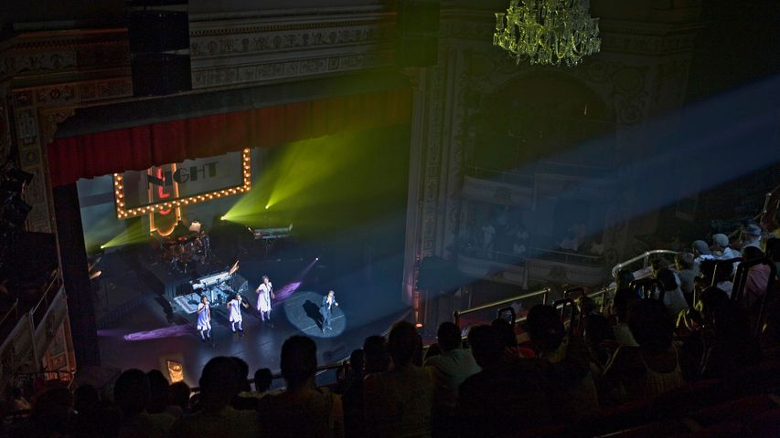 Amateur Night at the Apollo Theater in Harlem, New York City