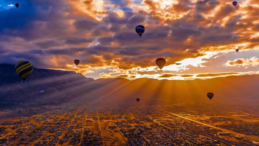 Albuquerque International Balloon Fiesta runs until October 14