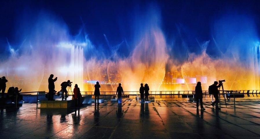 Floating Musical Fountain at Shanghai World Expo 2010, Shanghai, China