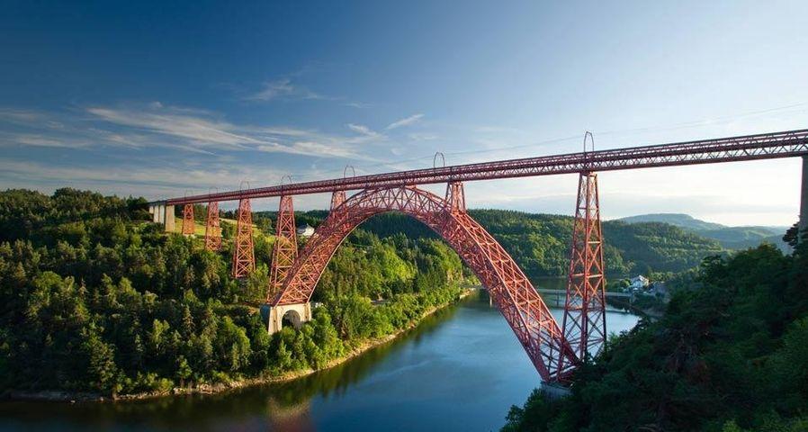 Viaduc de Garabit à Ruynes-en-Margeride, Cantal, Auvergne