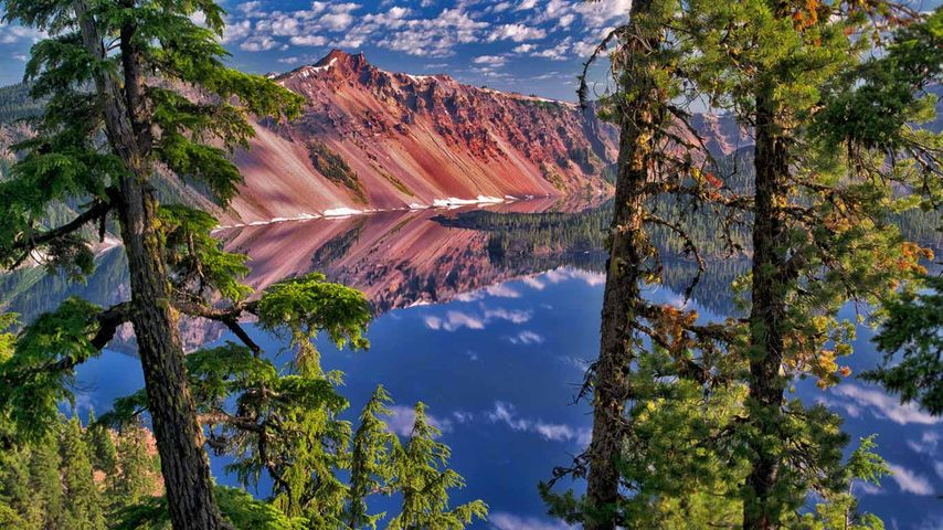 Watchman Peak, Crater-Lake-Nationalpark, Oregon, USA