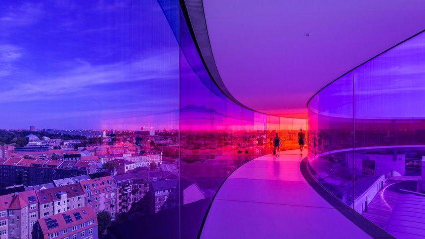 「アロス・オーフス美術館」デンマーク, オーフス