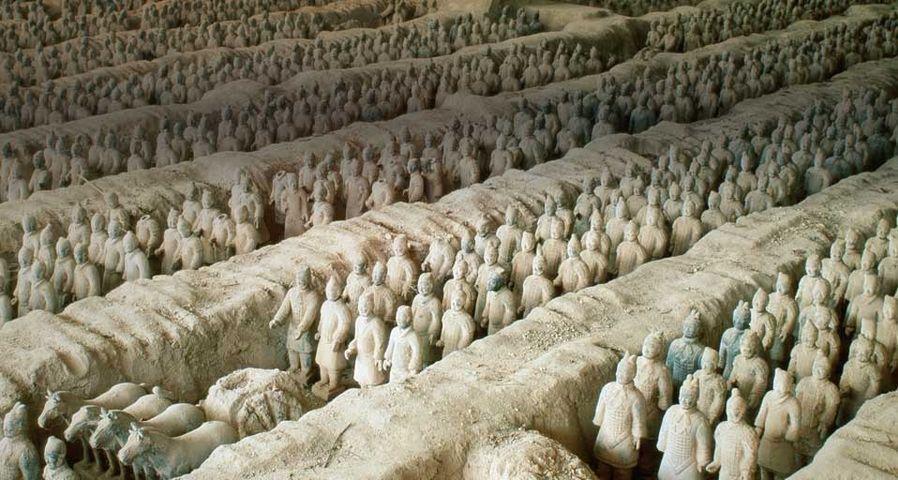 Terracotta Army, Xi'an, China – GR. Richardson/Photolibrary ©