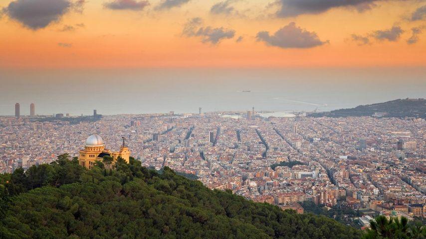 「ティビダボの丘」スペイン, バルセロナ