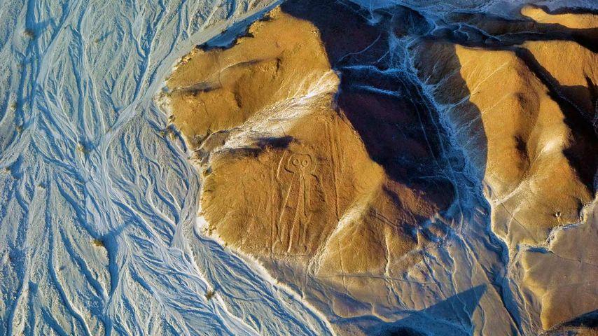 Owlman of the Nazca Lines in Peru