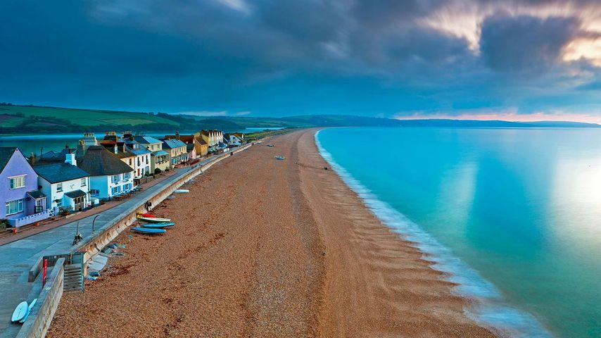 「トアクロスの浜辺」イギリス, デヴォン州