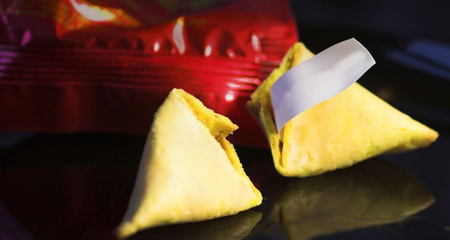 传统的中国食品幸运饺