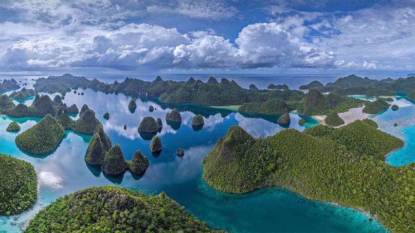 拉贾安帕特群岛中的瓦亚格岛,印度尼西亚