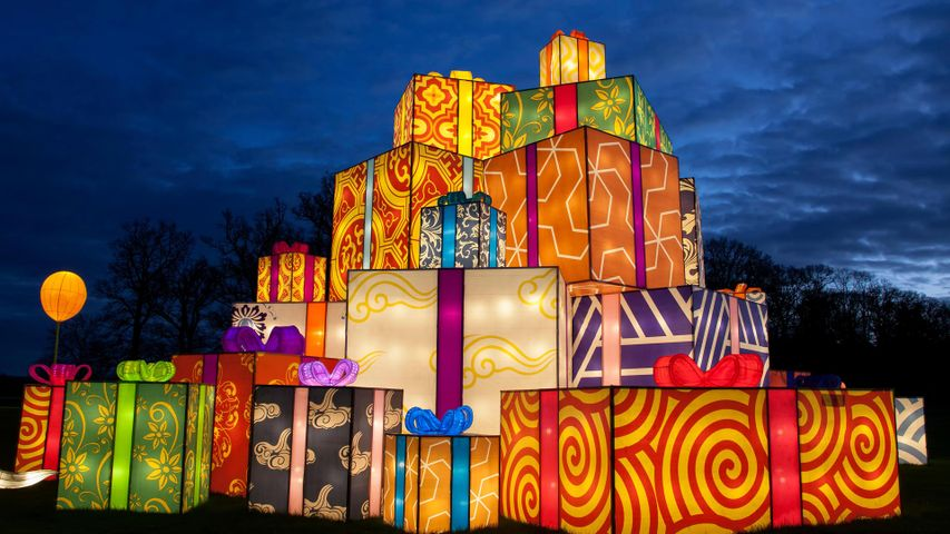 The Festival of Light at Longleat, Wiltshire