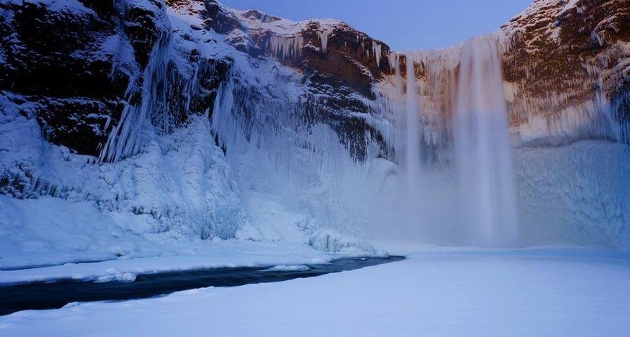 「スコゥガフォス滝」アイスランド, スコゥガル