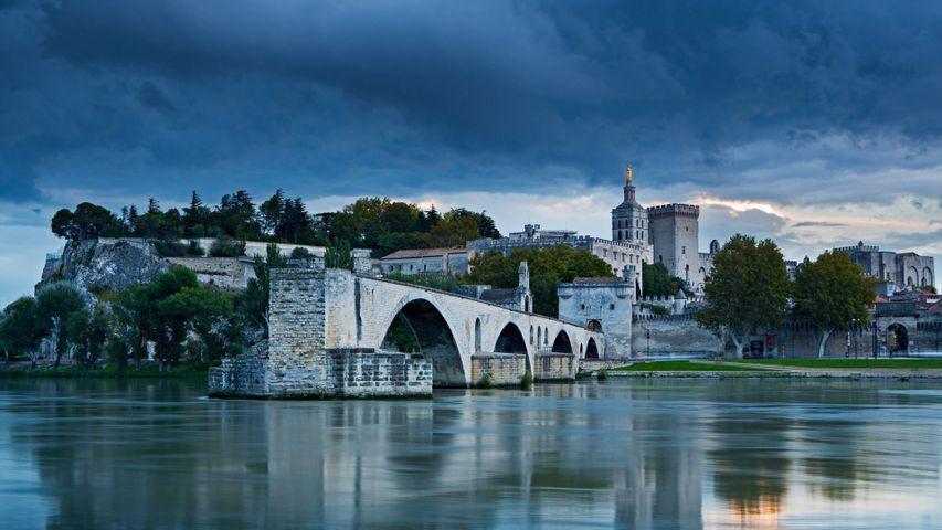 「サン・ベネゼ橋」フランス, アヴィニョン