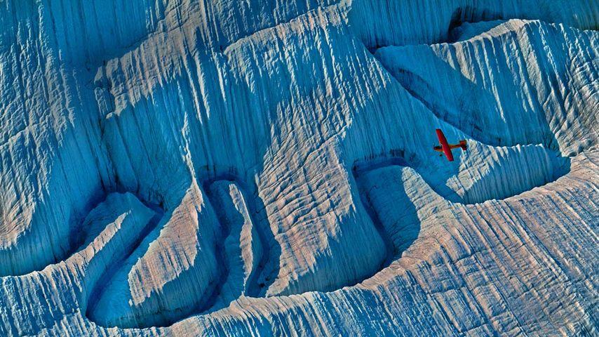 阿拉斯加,兰格尔-圣埃利亚斯国家公园和自然保护区的一座冰山
