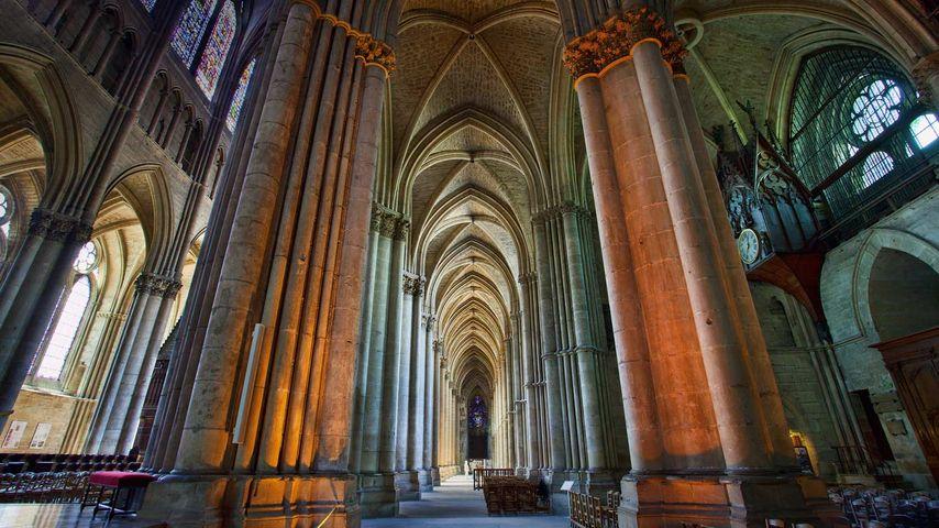 Notre-Dame de Reims Cathedral, Marne, France