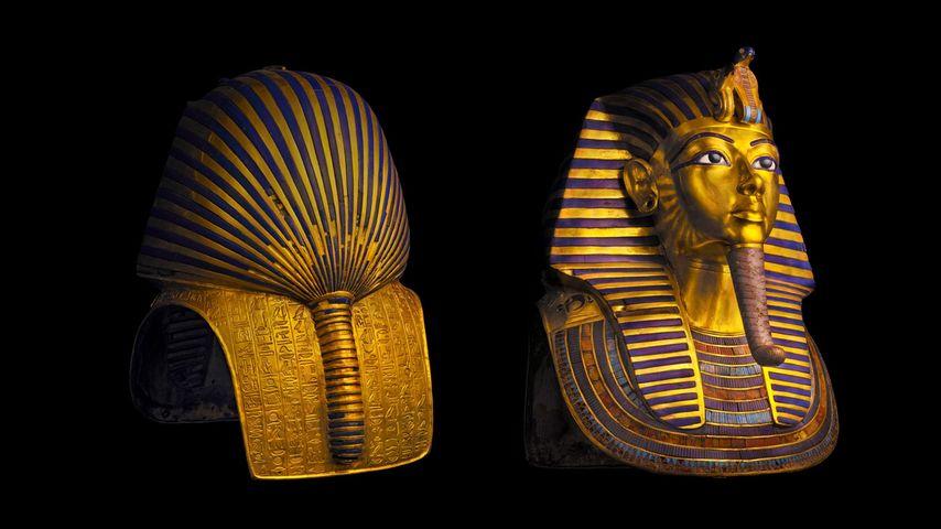 图坦卡门法老面具