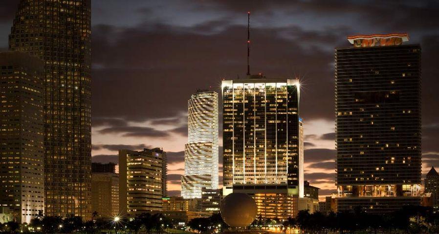 Miami dans l'État de Floride, États-Unis