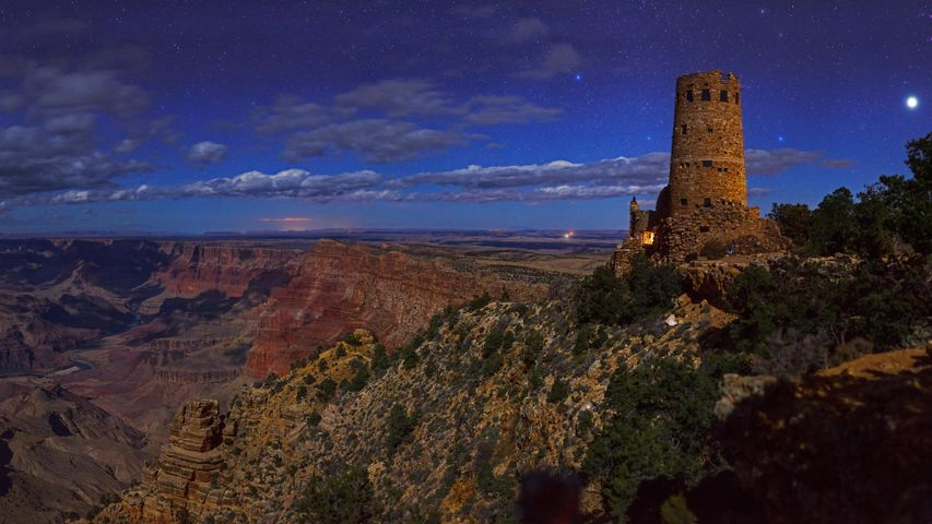 Desert View Watchtower, Grand Canyon National Park, Arizona