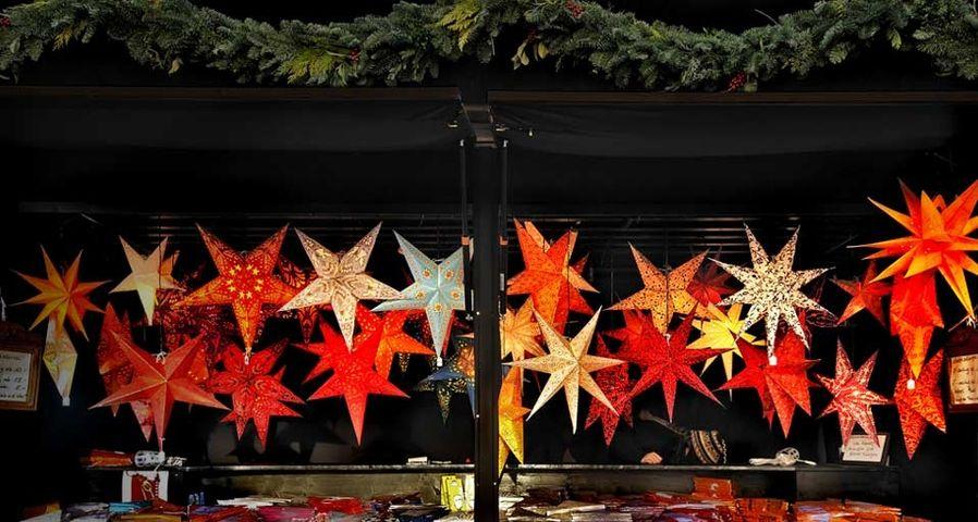 德国慕尼黑的圣诞装饰市场