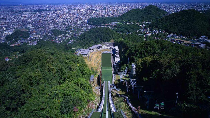 「大倉山ジャンプ競技場」北海道, 札幌
