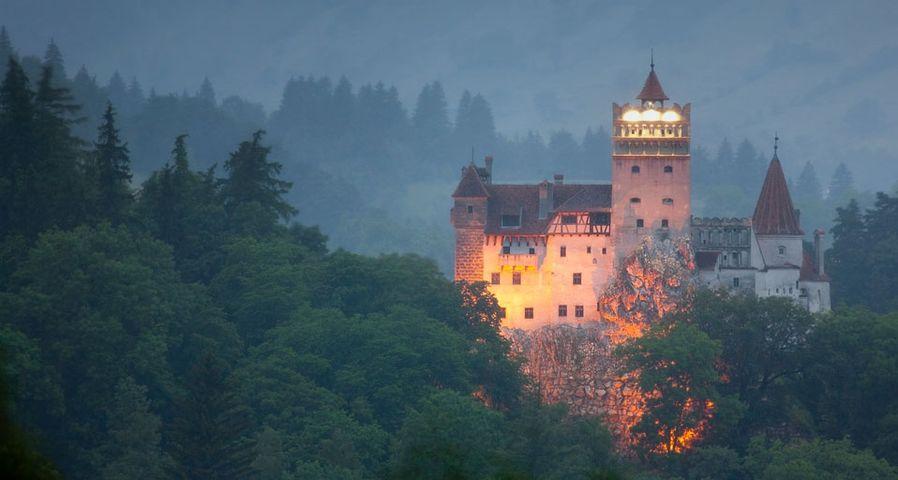 Bran castle (Dracula castle) in Bran, Transylvania, Romania