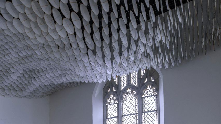 'The Eclipse' in the Chapel of St Cornelius on Governors Island, Brooklyn, New York, USA