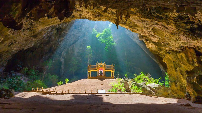 Kuha Karuhas pavilion in Phraya Nakhon Cave, Thailand
