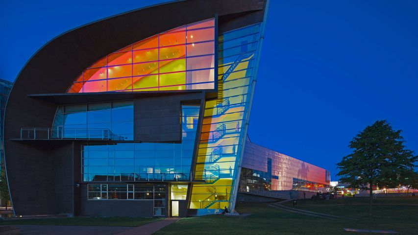 Kiasma Museum of Contemporary Art in Helsinki, Finland