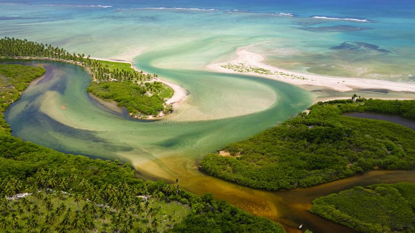 Tatuamunha River estuary, Brazil