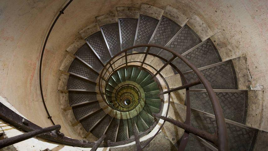 Escalier de l'arc de triomphe de l'Étoile, Paris