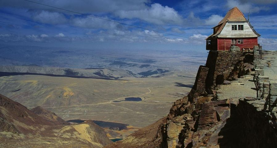 Old Mountaineering Hut in the Cordilliera Real, Bolivia