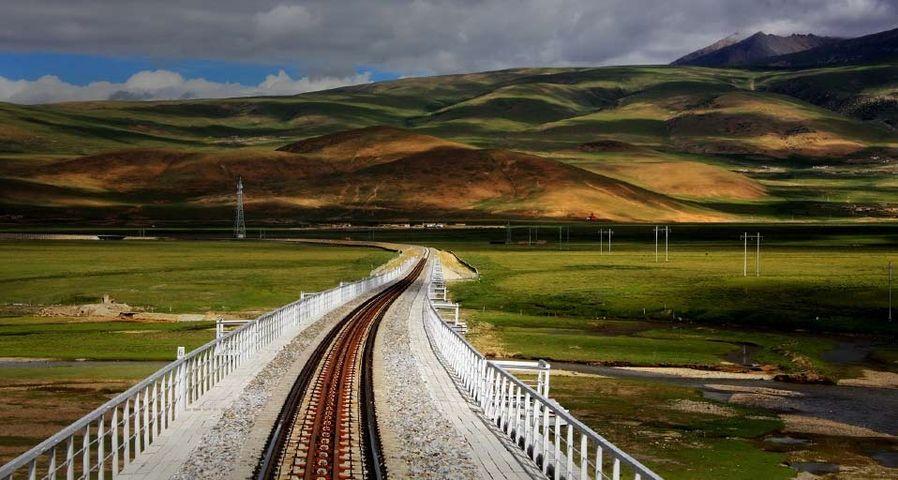青藏铁路风光