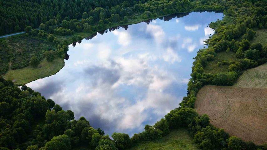 Parc Naturel Régional des Volcans d'Auvergne, Puy-de-Dôme, Auvergne-Rhône-Alpes, France.
