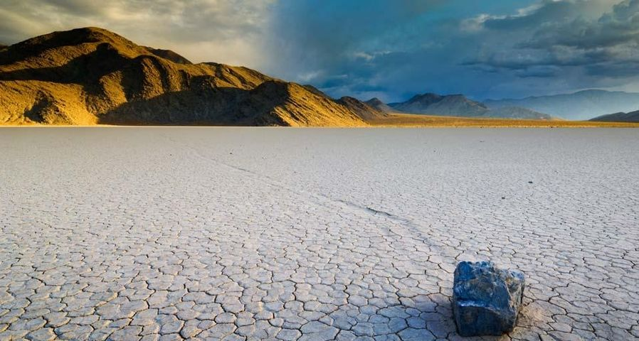 Racetrack Playa in Death Valley National Park, California, U.S.A.