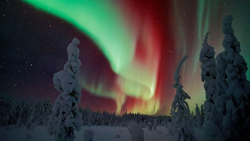 Northern Lights over Finland