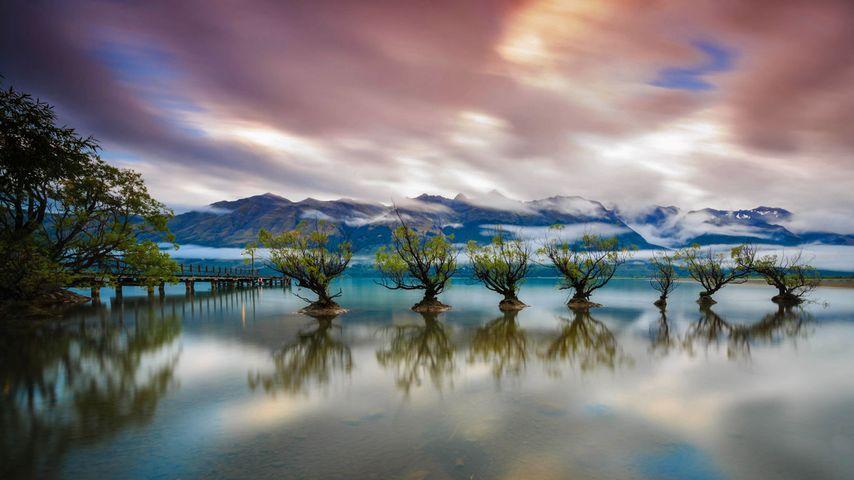 「ワカティプ湖」ニュージーランド, クイーンズタウン