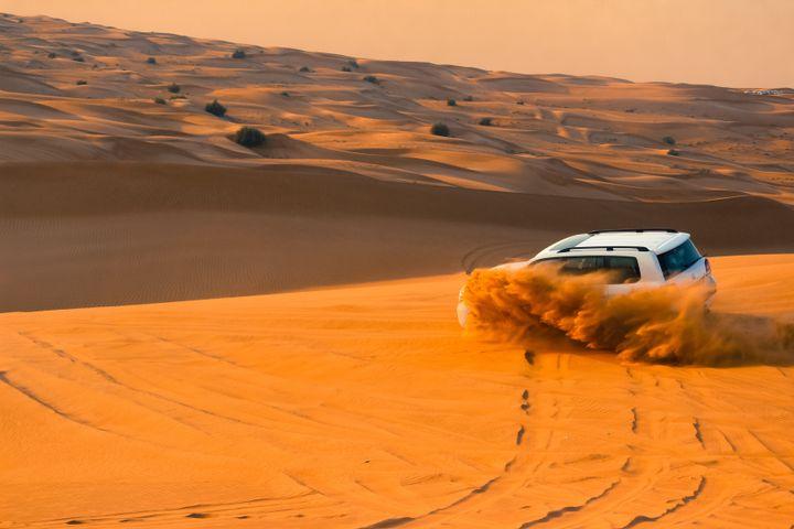 outdoor sky nature desert aeolian landform orange dune singing sand