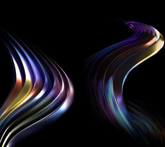 abstract blur light flame smoke