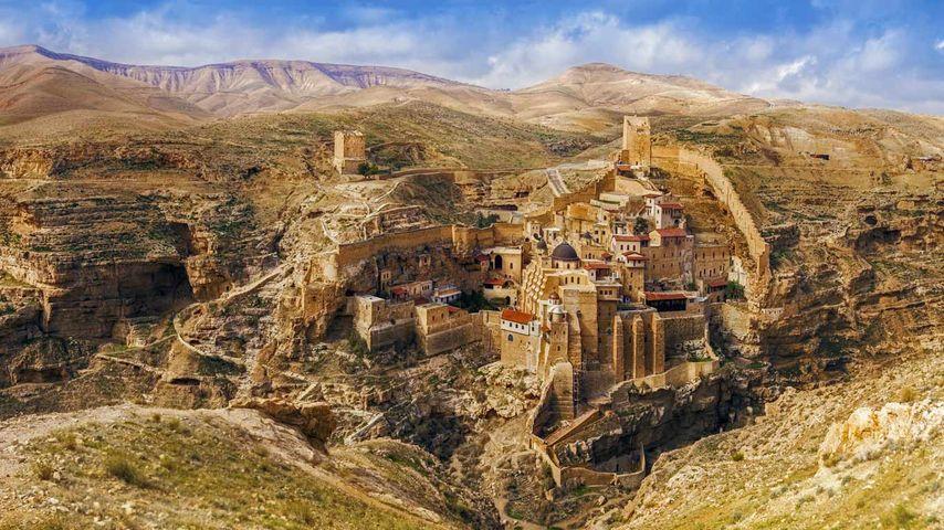 Mar Saba-Kloster, Kidrontal, Jerusalem, Israel