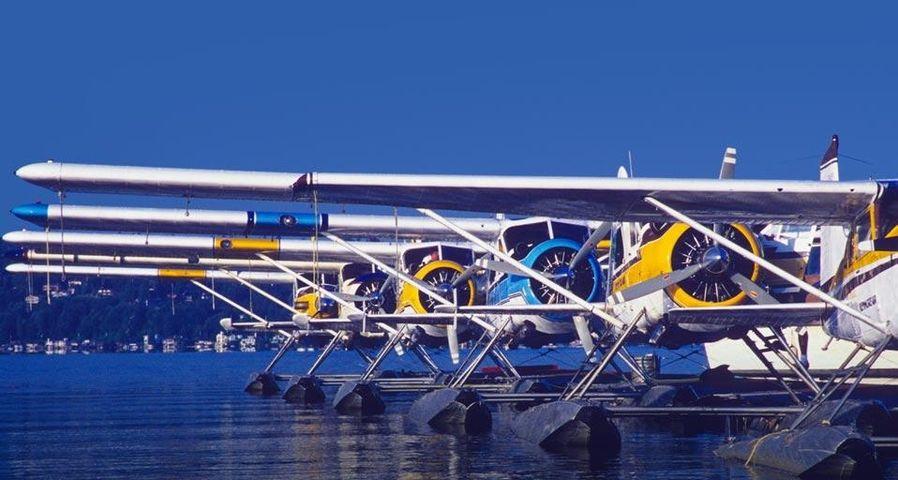 「水上飛行機」アメリカ, ワシントン州