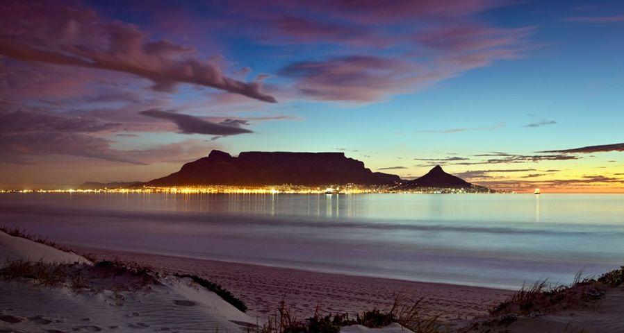 南非开普敦的桌山