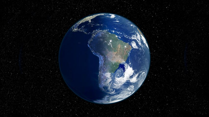 map planet earth world astronomy screenshot outer space sphere