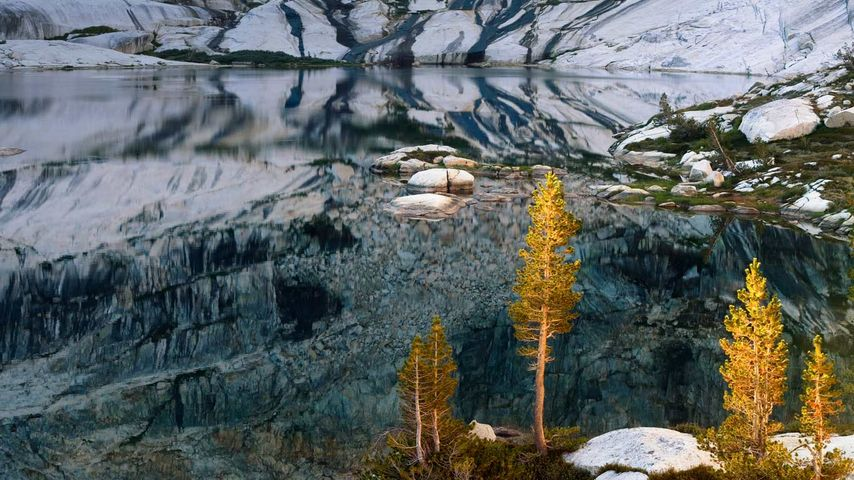「ペア湖」アメリカ, カリフォルニア州