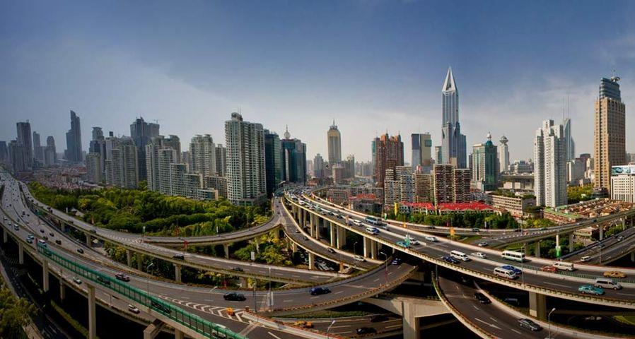 上海高速公路立交桥