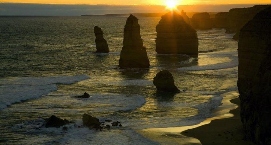 澳大利亚维多利亚州的十二使徒岩