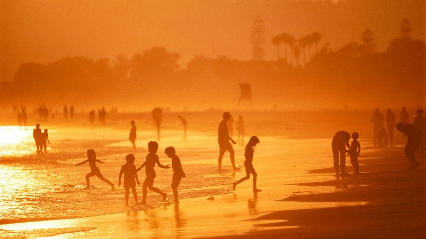 Strand bei Coronado, Kalifornien