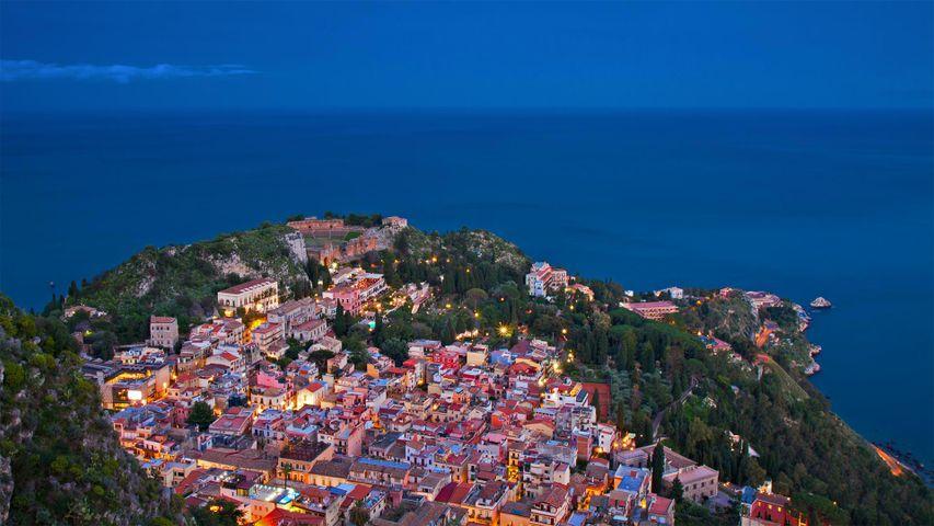 西西里岛陶尔米纳,意大利