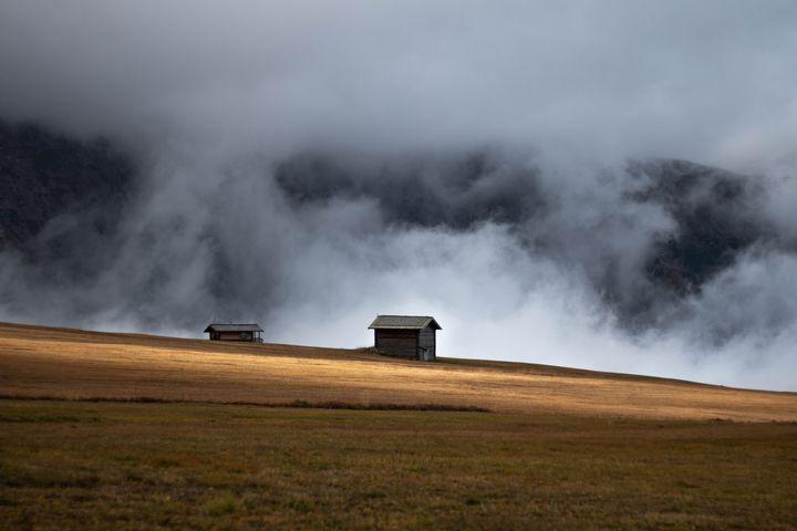 grass outdoor smoke sky fog landscape nature cloud